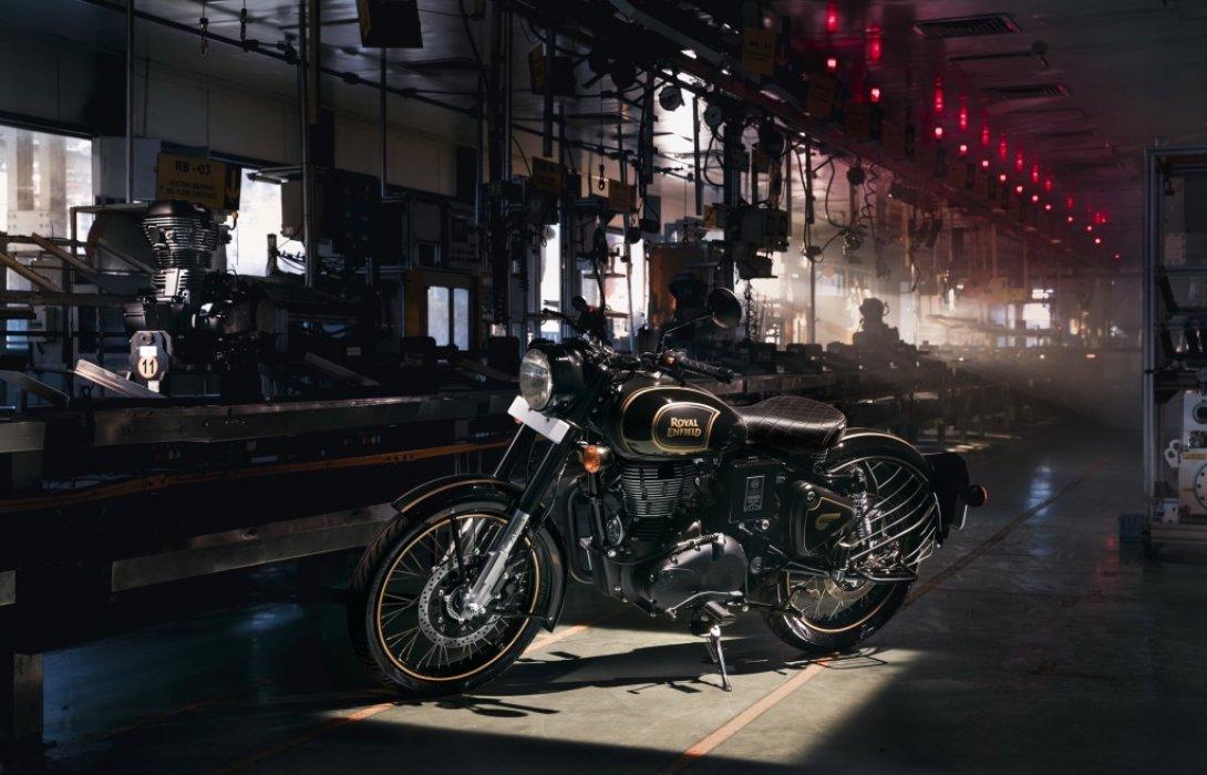 รอยัล เอนฟิลด์ ประกาศวางจำหน่ายรถจักรยานยนต์ซีรีส์พิเศษในประเทศไทยเพียง30คัน