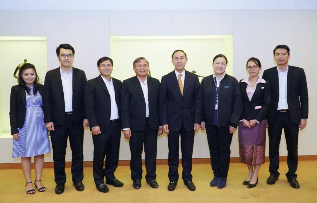 EXIM BANK ต้อนรับธนาคารการค้าต่างประเทศลาว มหาชน