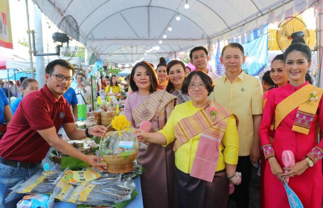 ออมสินเปิดตลาดนัดประชารัฐออมสิน ทั่วถิ่นไทย จ.อุบลราชธานี