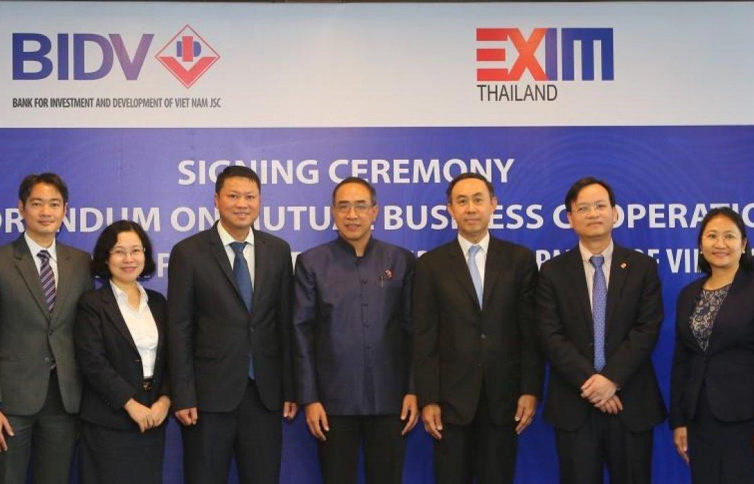 EXIM BANK ผนึกความร่วมมือ BIDV ส่งเสริมการค้าและการลงทุนไทย-เวียดนาม