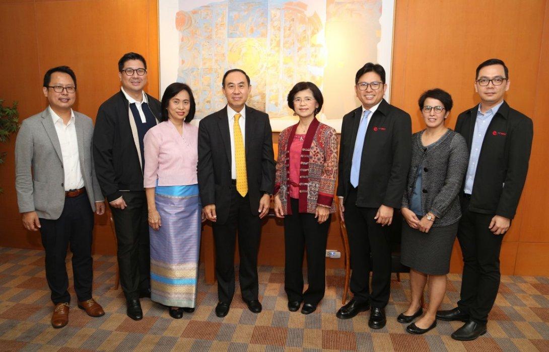 EXIM BANK พบปะหารือสภาผู้ส่งสินค้าทางเรือแห่งประเทศไทย