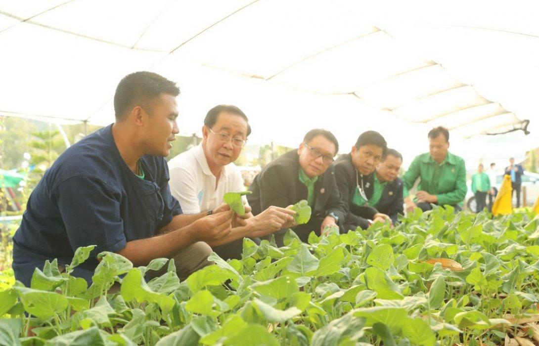 รัฐมนตรีว่าการกระทรวงการคลังเยี่ยมชม Smart Farmer จังหวัดเชียงใหม่