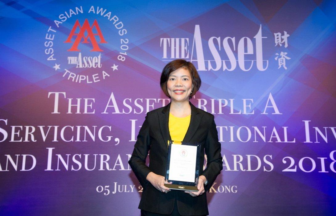 บลจ.กรุงศรี คว้ารางวัล Asset Management Company of the Year, Thailand 2018 จาก The Asset