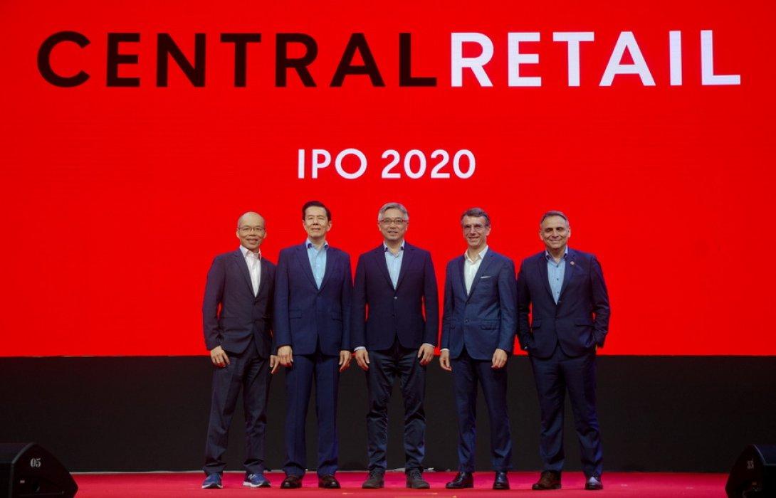"""""""เซ็นทรัล รีเทล"""" กำหนดช่วงราคาการเสนอขายหุ้นที่ 40 - 43 บาทต่อหุ้น เดินหน้าโรดโชว์ IPO ใหญ่ที่สุดในตลาดทุนไทย"""
