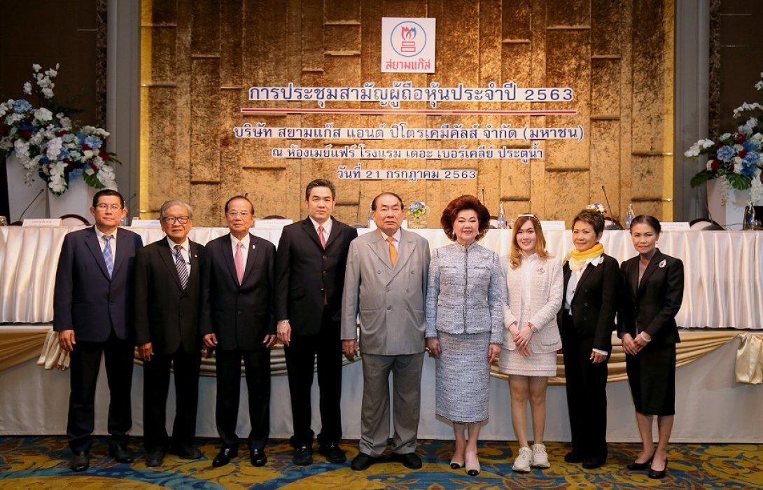 SGP ประชุมสามัญผู้ถือหุ้นประจำปี 2563