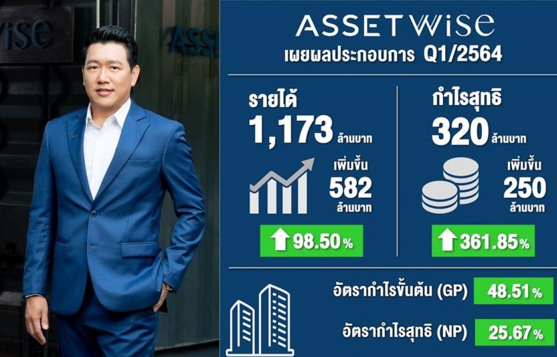 ASW โชว์ไตรมาส 1/64 กำไรพุ่ง 361.8%