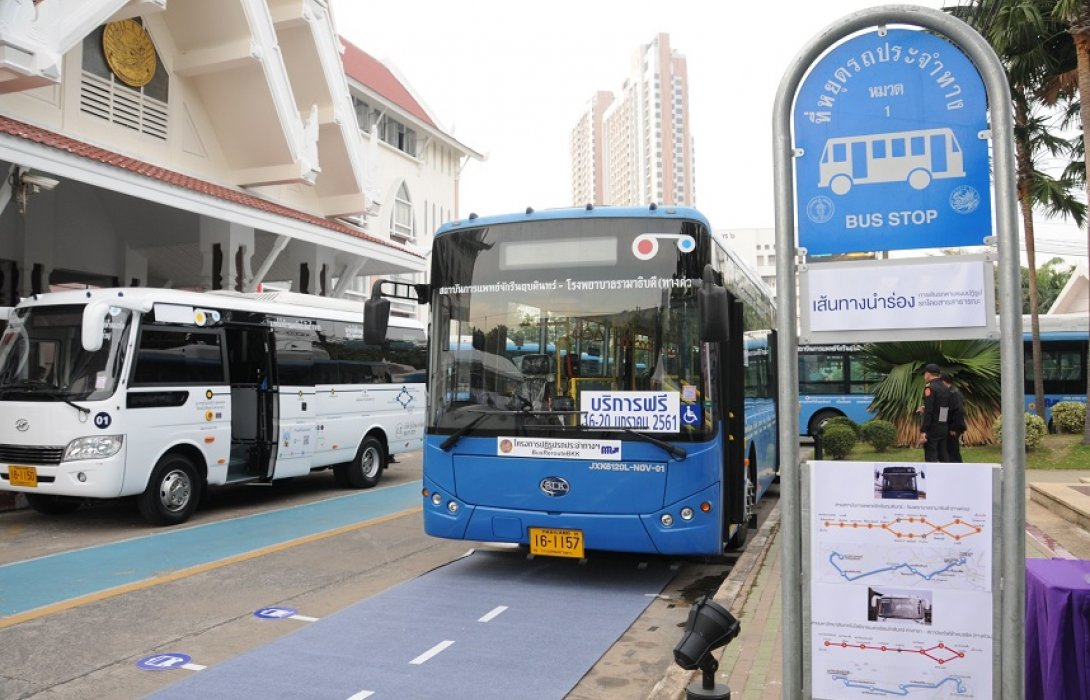 ขนส่งฯ เปิดรถเมล์ใหม่ 2 สาย เชื่อมต่อทุกโหมดการเดินทาง