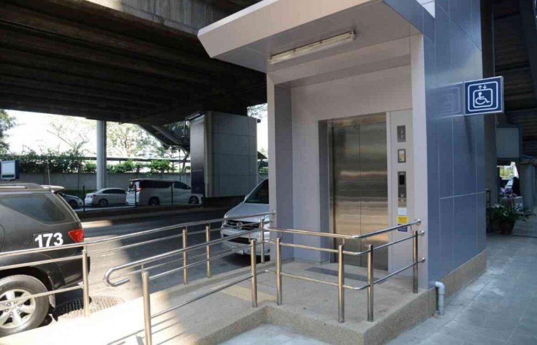 บีทีเอส ทบทวนปรับปรุงขั้นตอนการใช้ลิฟท์สำหรับผู้พิการ