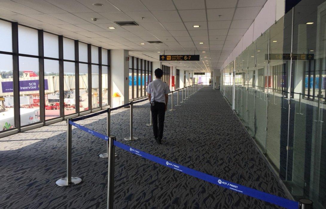ท่าอากาศยานภูเก็ตเปิดให้บริการประตูทางออกขึ้นเครื่องเพิ่มเติมอาคารผู้โดยสารภายในประเทศ