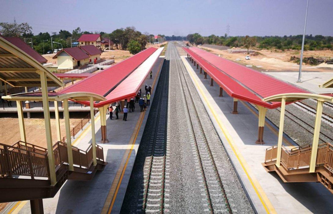"""เปิดหวูด..รถไฟทางคู่ """"จิระ-ขอนแก่น"""" ปี 62 <br> เตรียมเปิดทดลอง 9 สถานีแรก ตุลาคมปีนี้"""