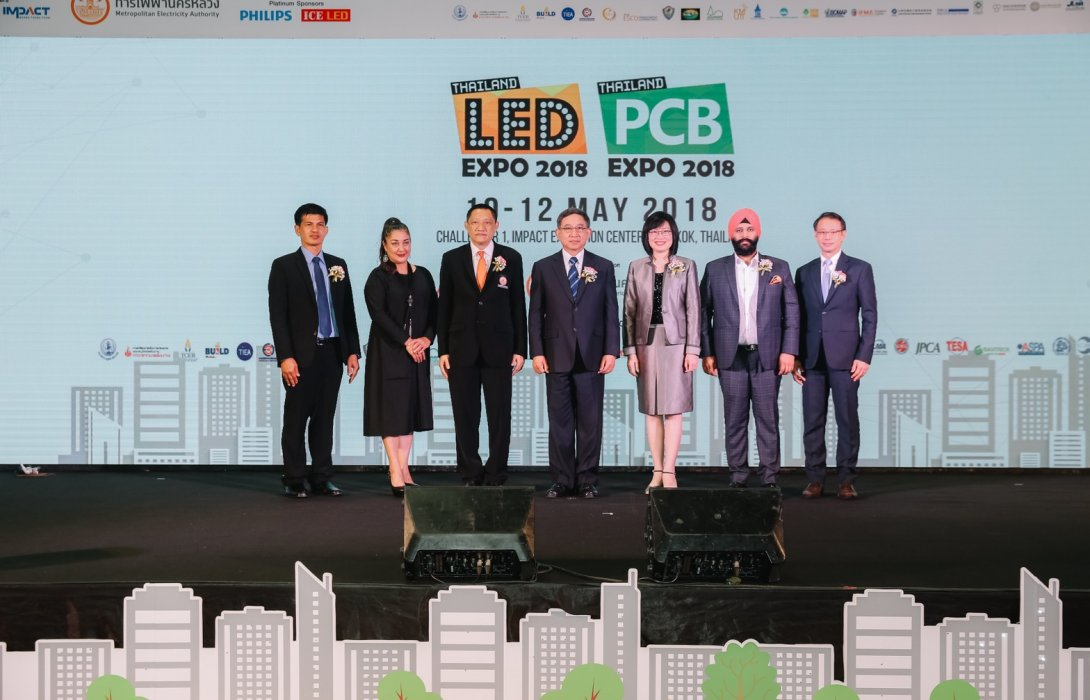 """""""กฟน."""" ผนึก """"อิมแพ็ค"""" ขับเคลื่อนด้วยนวัตกรรม ผ่านงาน LED &PCB; Expo Thailand 2018"""