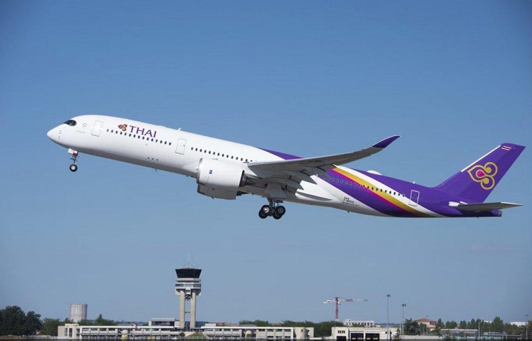 """การบินไทย ขยายเวลายกเว้นค่าธรรมเนียมเปลี่ยนแปลงเที่ยวบิน """"จีน-ฮ่องกง-ไต้หวัน-ญี่ปุ่น-เกาหลี-สิงคโปร์-อิตาลี"""""""