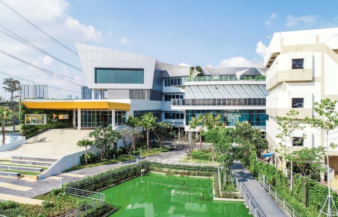 อาคารศูนย์การเรียนรู้ กฟผ. สำนักงานกลาง ได้มาตรฐาน TREES ระดับ PLATINUM