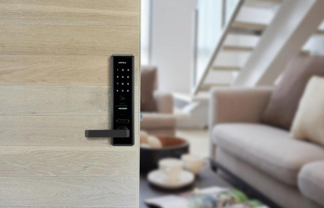 """ให้ความปลอดภัยและสะดวกสบายง่ายกว่าที่เคย ด้วยนวัตกรรม""""Digital Door Lock""""จากเฮเฟเล่"""