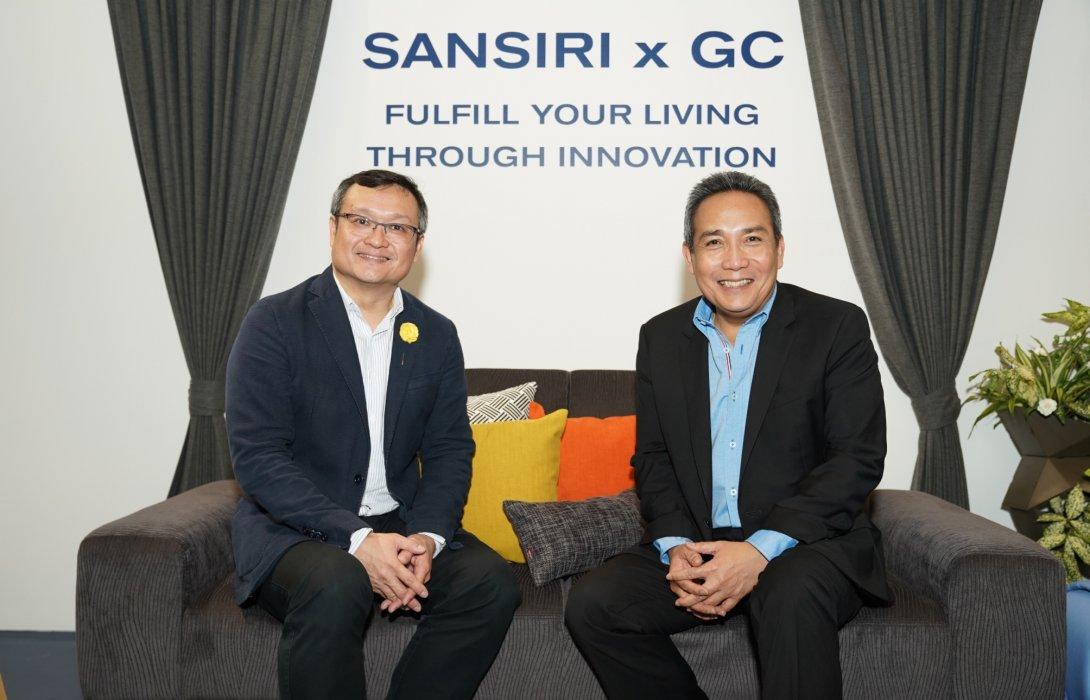 แสนสิริ จับมือ GC สร้าง Green Society เต็มรูปแบบครั้งแรกในไทย