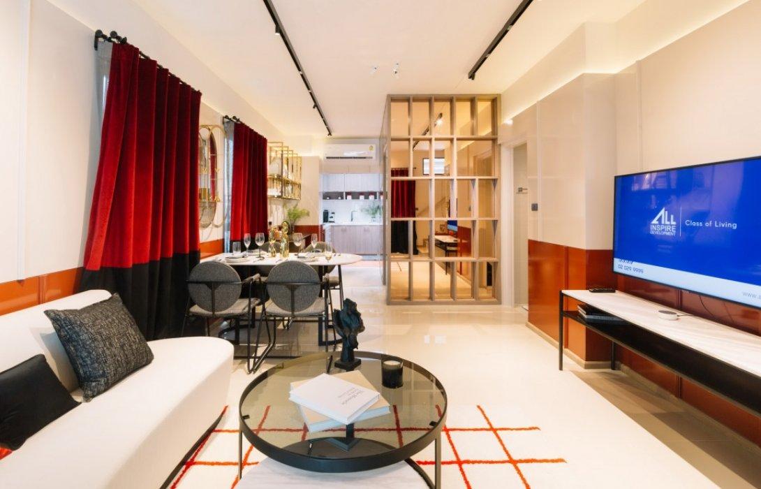 ALL เปิดบ้านดีไซน์ใหม่ 3 ห้องนอนใหญ่ Vision Smartโครงการ The Vision ลาดพร้าว – นวมินทร์