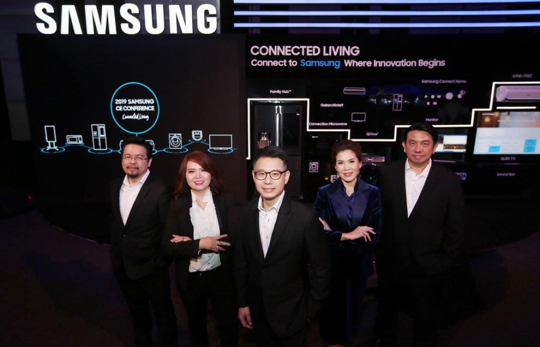 """""""ซัมซุง"""" นำ เทคโนโลยี AI อัพนวัตกรรมเครื่องใช้ไฟฟ้า ปลุกกระแสสมาร์ทโฮม"""