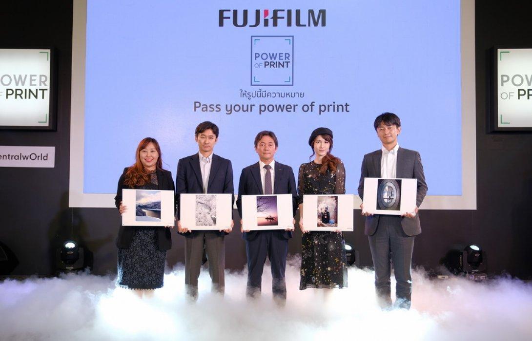"""""""ฟูจิฟิล์ม"""" เปิดนิทรรศการภาพถ่าย """"Power of Print""""กระตุ้นคนไทยรักการปริ้นท์เก็บภาพบันทึกเรื่องราว"""