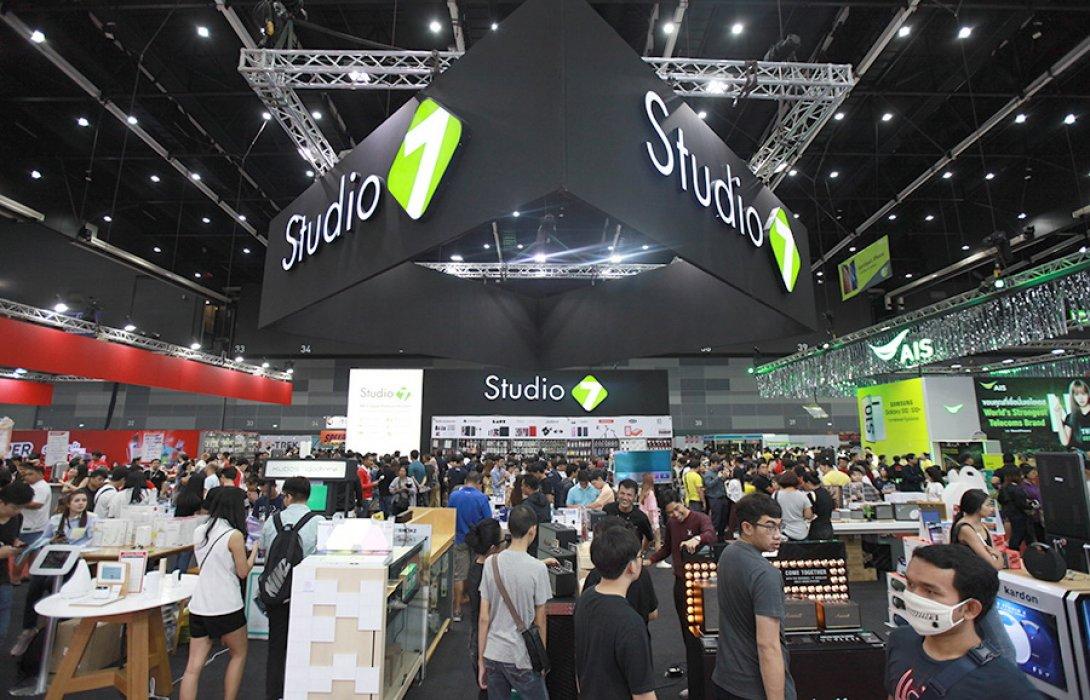 """ปิดฉากสวยงาม """"Thailand Mobile Expo 2019""""  ปลุกธุรกิจไอทีฟื้นคึกคักกลางปี งินสะพัด 2.5 พันล้าน"""