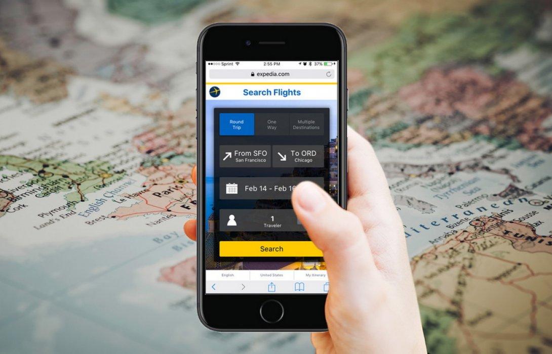 """โลกยุคดิจิตอล """"นักท่องเที่ยวจองการเดินทางผ่านแอพ"""" พุ่งขึ้นกว่า 50%"""