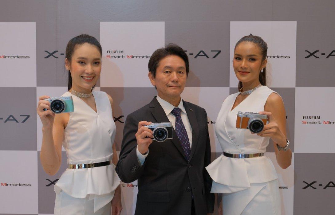"""""""ฟูจิฟิล์ม""""  ไม่ถอย ปั้นกล้องดิจิตอล 'X-A7 Smart Mirrorless' ท้าชนสมาร์ทโฟน"""