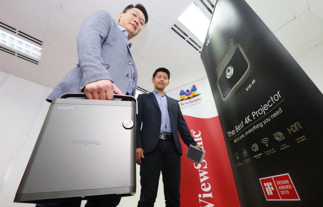 """""""วิวโซนิค"""" โหมรุกตลาดครึ่งปีนี้ เป้าขึ้นแท่นผู้นำตลาดสมาร์ทโปรเจคเตอร์ในไทย"""