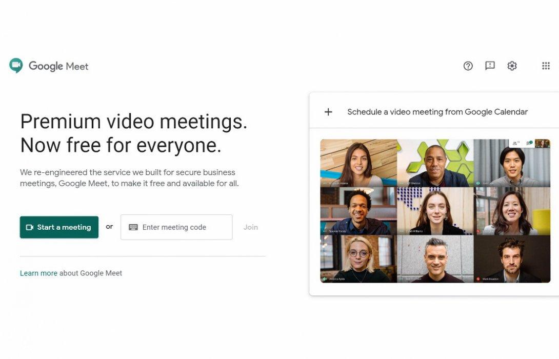 """ไม่รอช้า Google ส่ง """"Google Meet""""  บริการประชุมทางวิดีโอฟรี!! สู้ฟัด  ZOOM"""