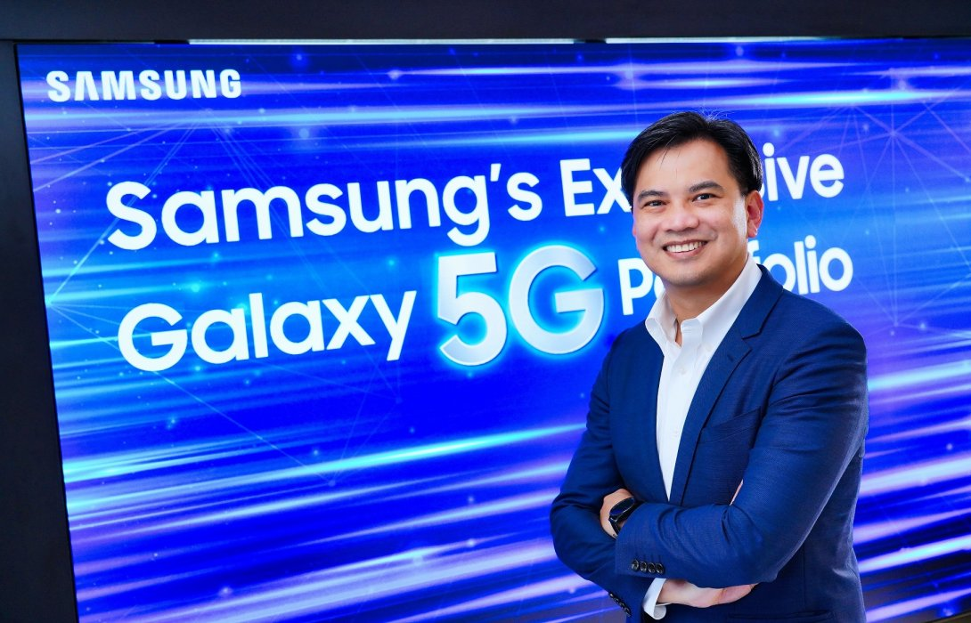 'ซัมซุง' ลุยทำตลาดสมาร์ทโฟน 5G ในไทย เต็มสตีมมั่นใจอีก 5 ปี ยอดขายโตพุ่ง 30 เท่า